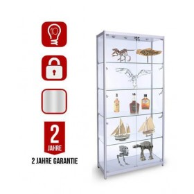 1000mm Glasvitrine