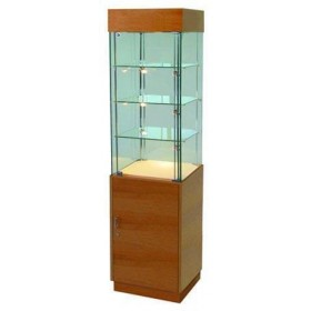 500mm Wooden Display Cabinet with Storage