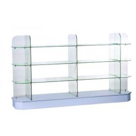 DURANT Glas Display Gondel - 2400mm
