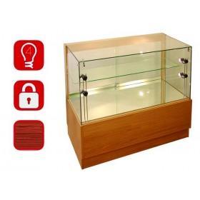 1000mm hölzernes Glas Display Zähler-PR-5001-21